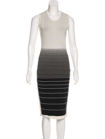 Narciso Rodriguez Knit Midi Dress None