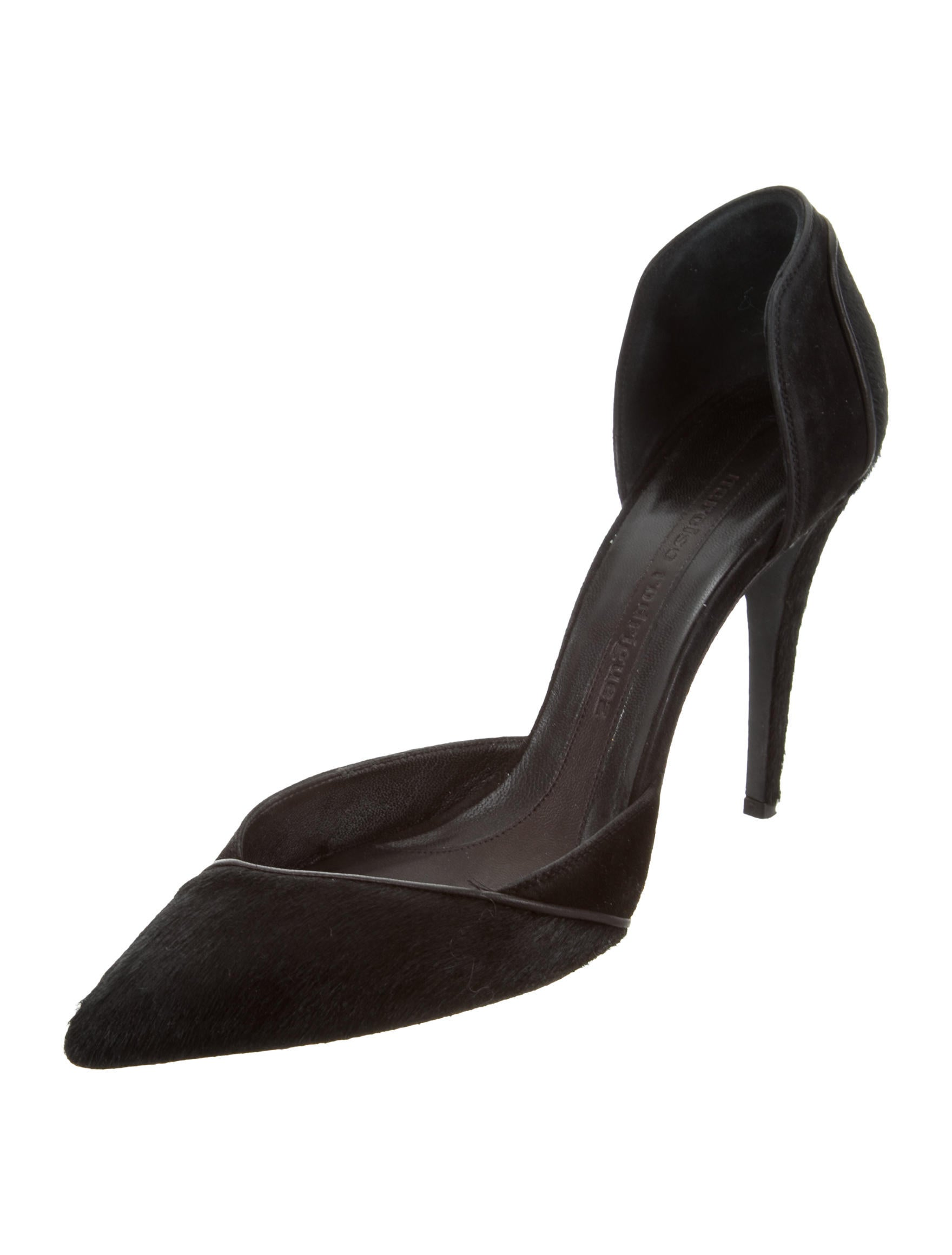 lowest price for sale outlet top quality Narciso Rodriguez Ponyhair D'Orsay Pumps outlet the cheapest pick a best for sale cheap brand new unisex nKqNAR