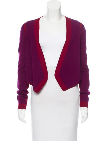 Narciso Rodriguez Contrast Knit Cardigan None