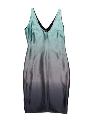 Narciso Rodriguez Sleeveless Silk Dress None
