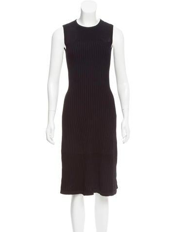 Narciso Rodriguez Midi Sweater Dress None