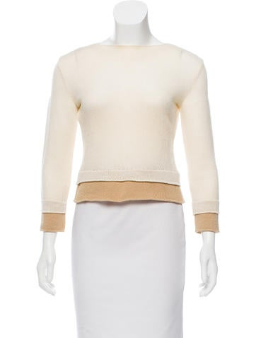 Narciso Rodriguez Wool Knit Sweater None