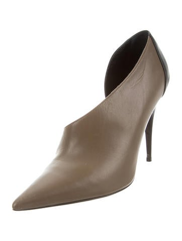 Narciso Rodriguez Leather Bicolor Booties cheap real authentic sale order new sale online buy cheap Manchester A9QIM
