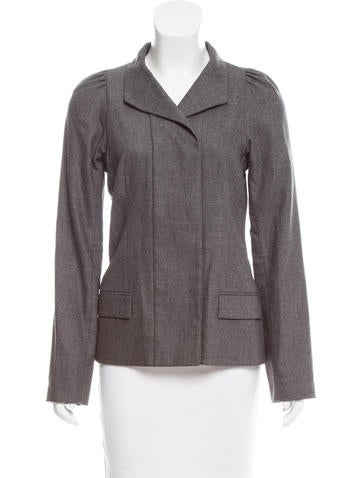 Narciso Rodriguez Tailored Double-Breasted Jacket None