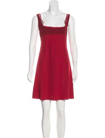 Narciso Rodriguez Silk-Blend Dress None