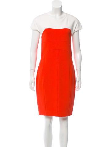 Narciso Rodriguez Colorblock Sheath Dress None