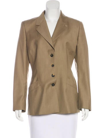 Narciso Rodriguez Structured Notch-Lapel Blazer None