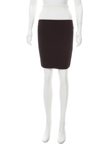 Narciso Rodriguez Colorblock Pencil Skirt None