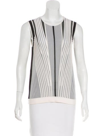 Narciso Rodriguez Knit Wool Top None