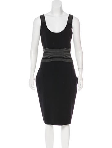Narciso Rodriguez Bodycon Wool-Blend Dress None