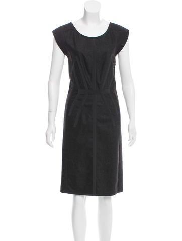 Narciso Rodriguez Sleeveless Wool Dress None