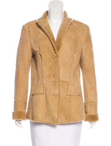 Narciso Rodriguez Suede Button-Up Jacket None