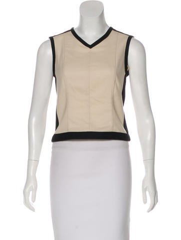 Narciso Rodriguez Sleeveless Wool Top None