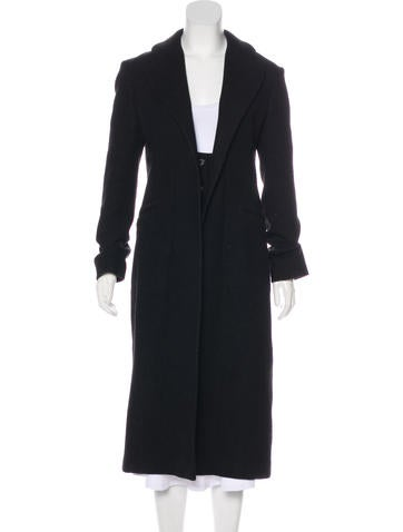 Narciso Rodriguez Wool Long Coat None