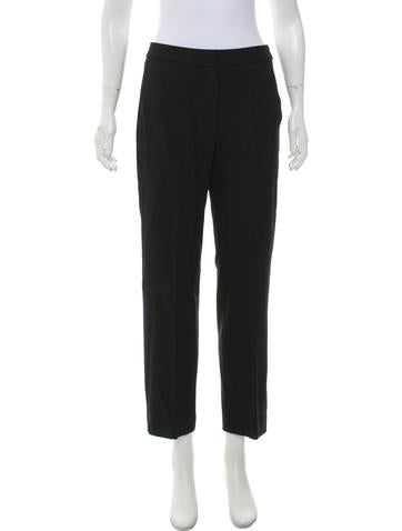 Narciso Rodriguez Mid-Rise Wool Pants None