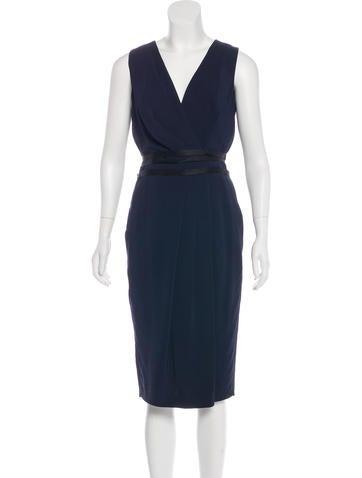 Narciso Rodriguez Sleeveless Pleated Dress None