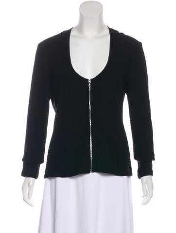 Narciso Rodriguez Long Sleeve Wool Top None
