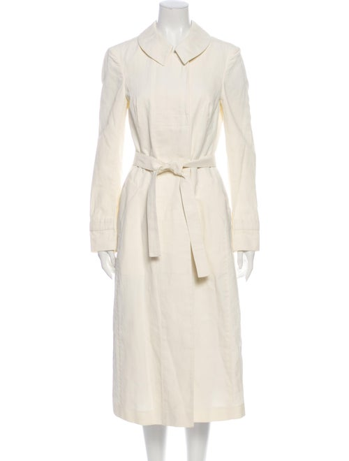 Narciso Rodriguez Trench Coat White