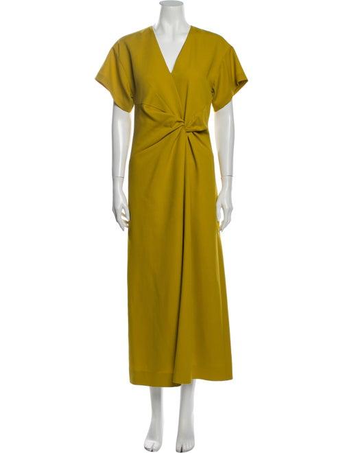 Narciso Rodriguez 2019 Long Dress Gold