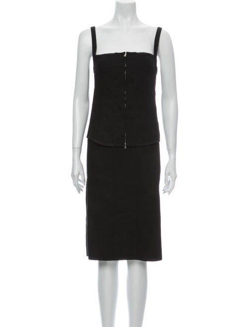 Narciso Rodriguez Skirt Set Black