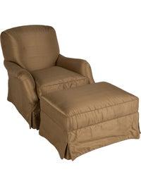 Astonishing Nancy Corzine 2 Piece Warwick Lounge Chair Ottoman Set Bralicious Painted Fabric Chair Ideas Braliciousco