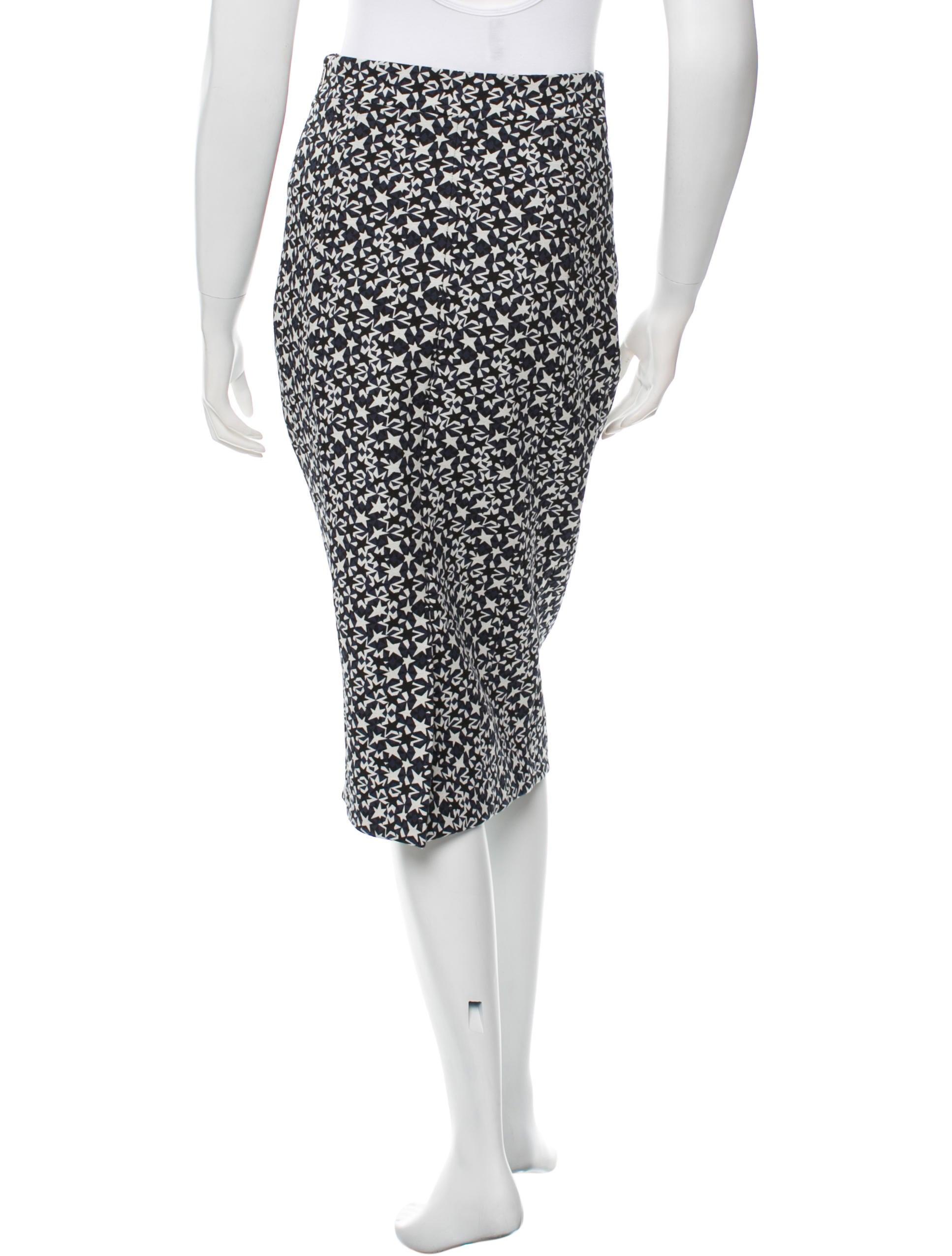 neil barrett patterned pencil skirt w tags clothing