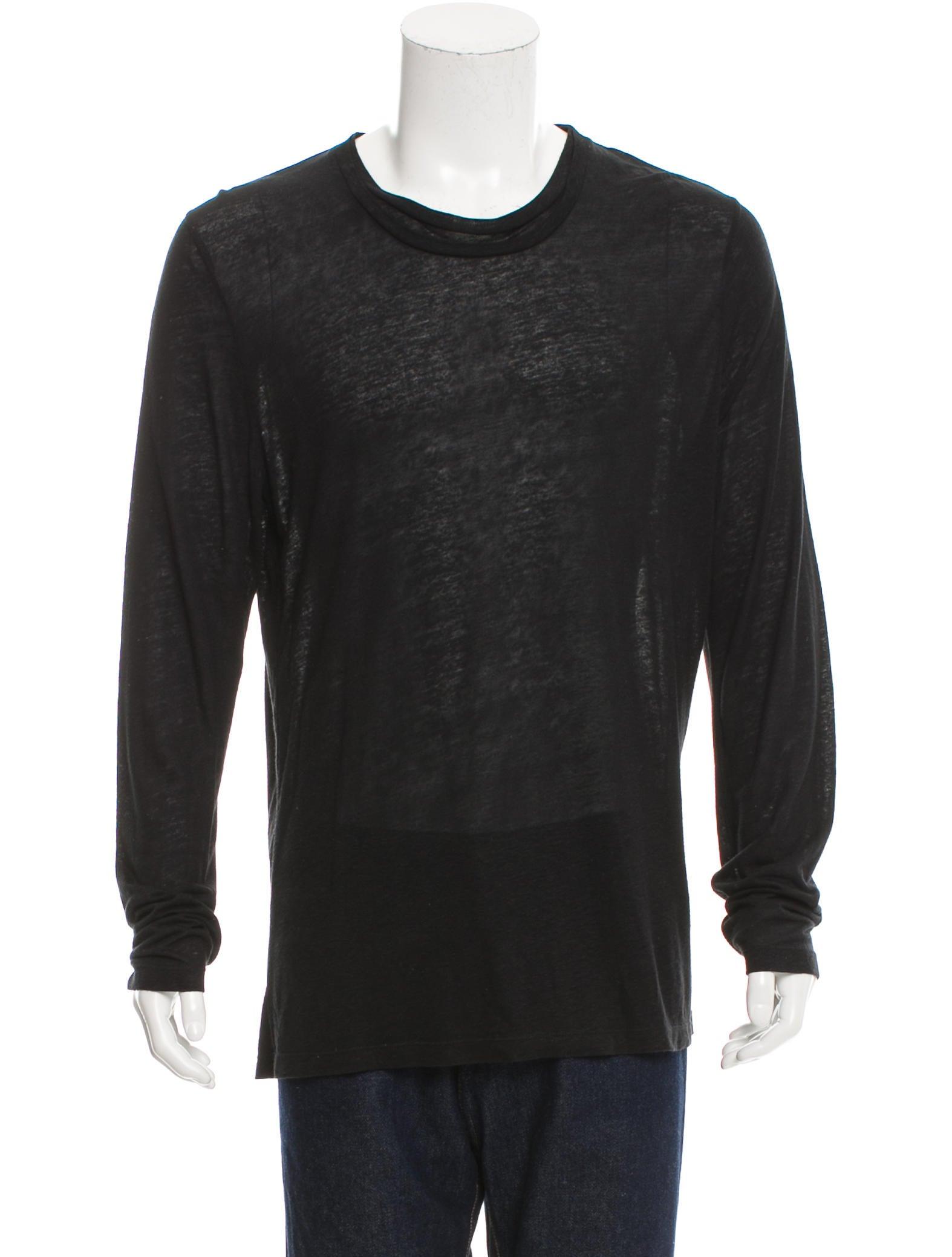 Neil barrett long sleeve linen shirt clothing neb21203 for Linen long sleeve shirt