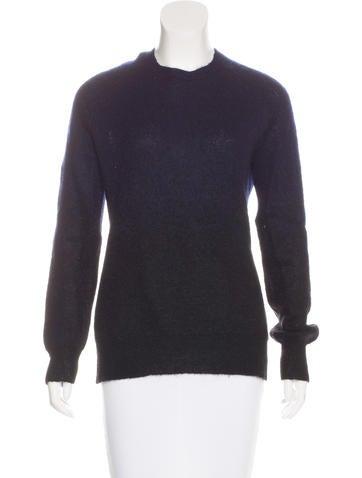 Neil Barrett Ombré Knit Sweater None