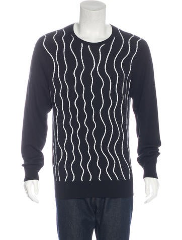 Neil Barrett Abstract Print Sweater None