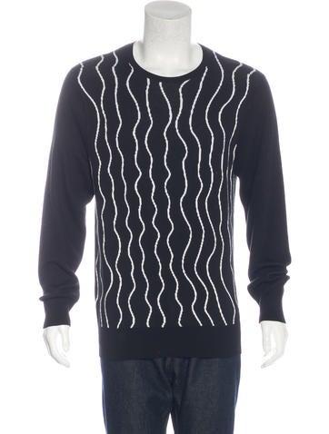 Neil Barrett Abstract Print Sweater None