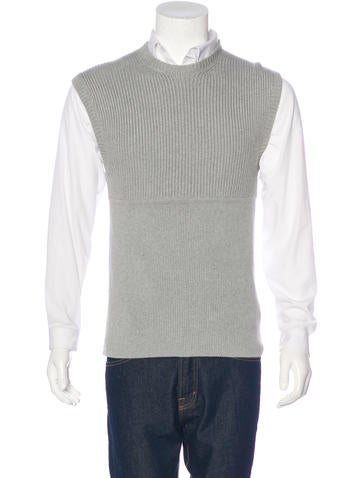 Neil Barrett Ribbed Sweater Vest w/ Tags None