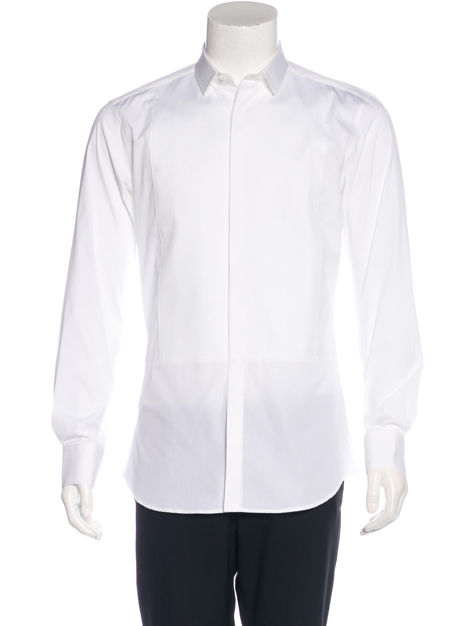 Neil barrett skinny fit tuxedo shirt clothing neb21382 for Neil barrett tuxedo shirt