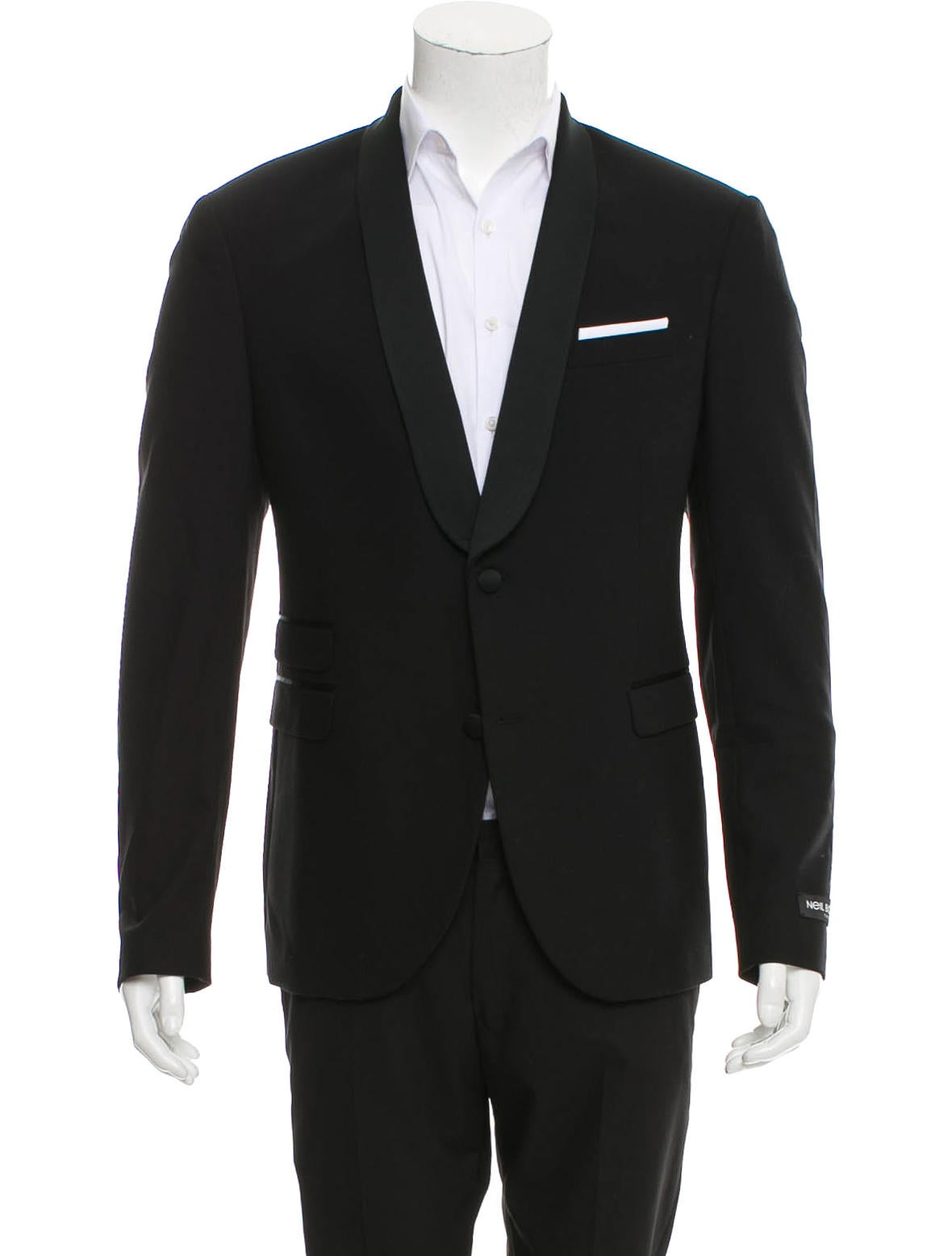 Neil barrett virgin wool tuxedo jacket w tags clothing for Neil barrett tuxedo shirt