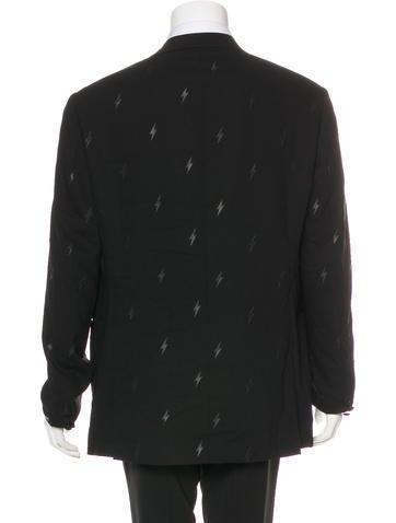 Neil barrett lightning bolt tuxedo blazer w tags for Neil barrett tuxedo shirt