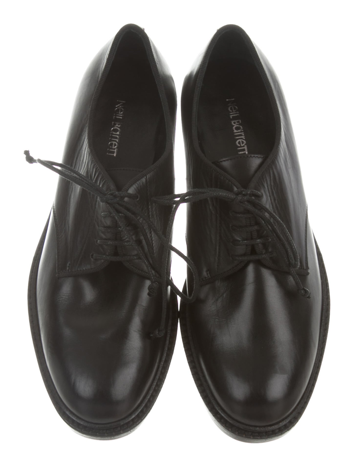 Neil Barrett Round-Toe Lace-Tie Oxfords outlet new sale buy cheap purchase 97LAz