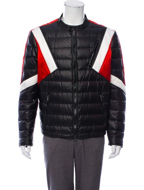Neil Barrett Quilted Moto Jacket black