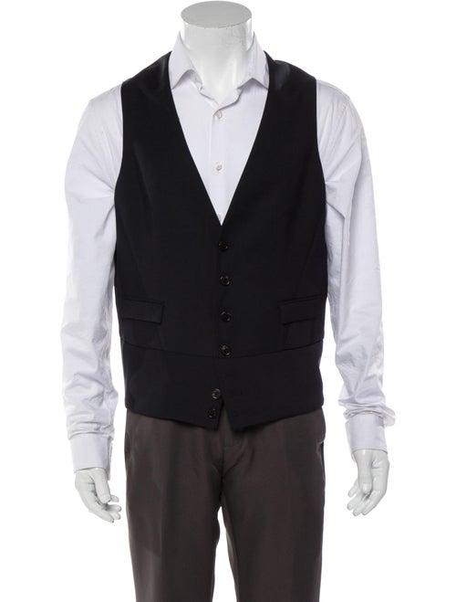 Neil Barrett Wool Suit Vest black