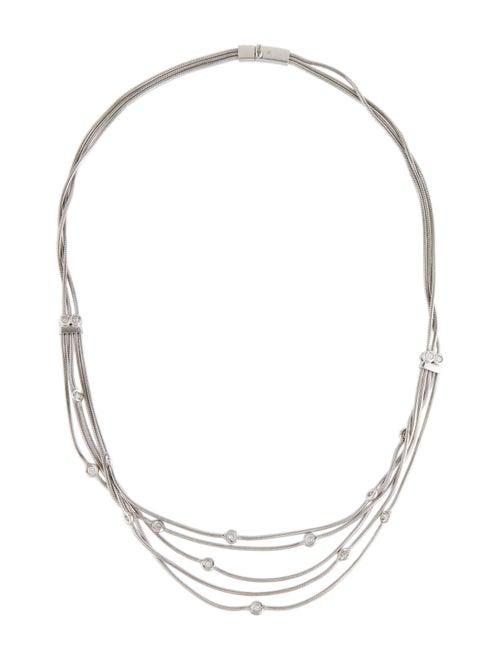Necklace 18K Diamond Multi-Strand Necklace White