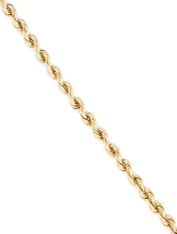 14K Twist Chain