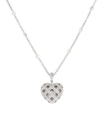 Necklace Diamond Heart Pendant Necklace None