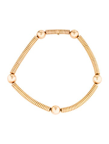 18K Stovepipe Collar Necklace