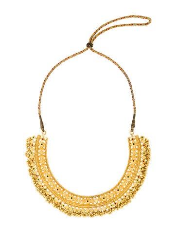 Necklace 22K Enamel Collar Necklace