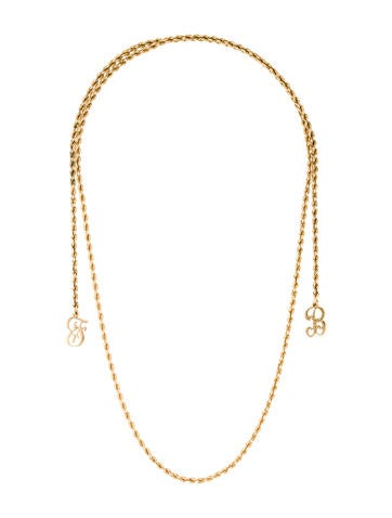 14K Long Initial Chain None