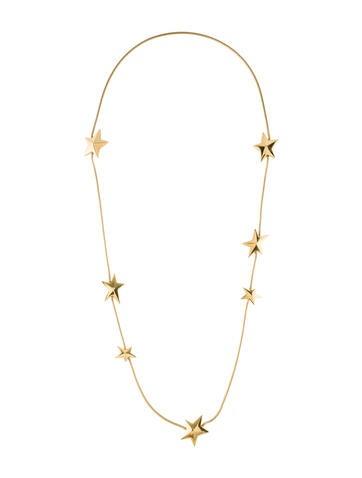 18K Celestial Star Necklace