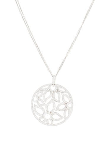 18K Diamond Floral Ope