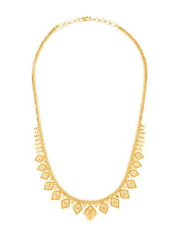 21K Filigree Necklace