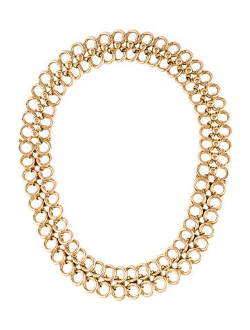 14K Convertible Chain Link Necklace