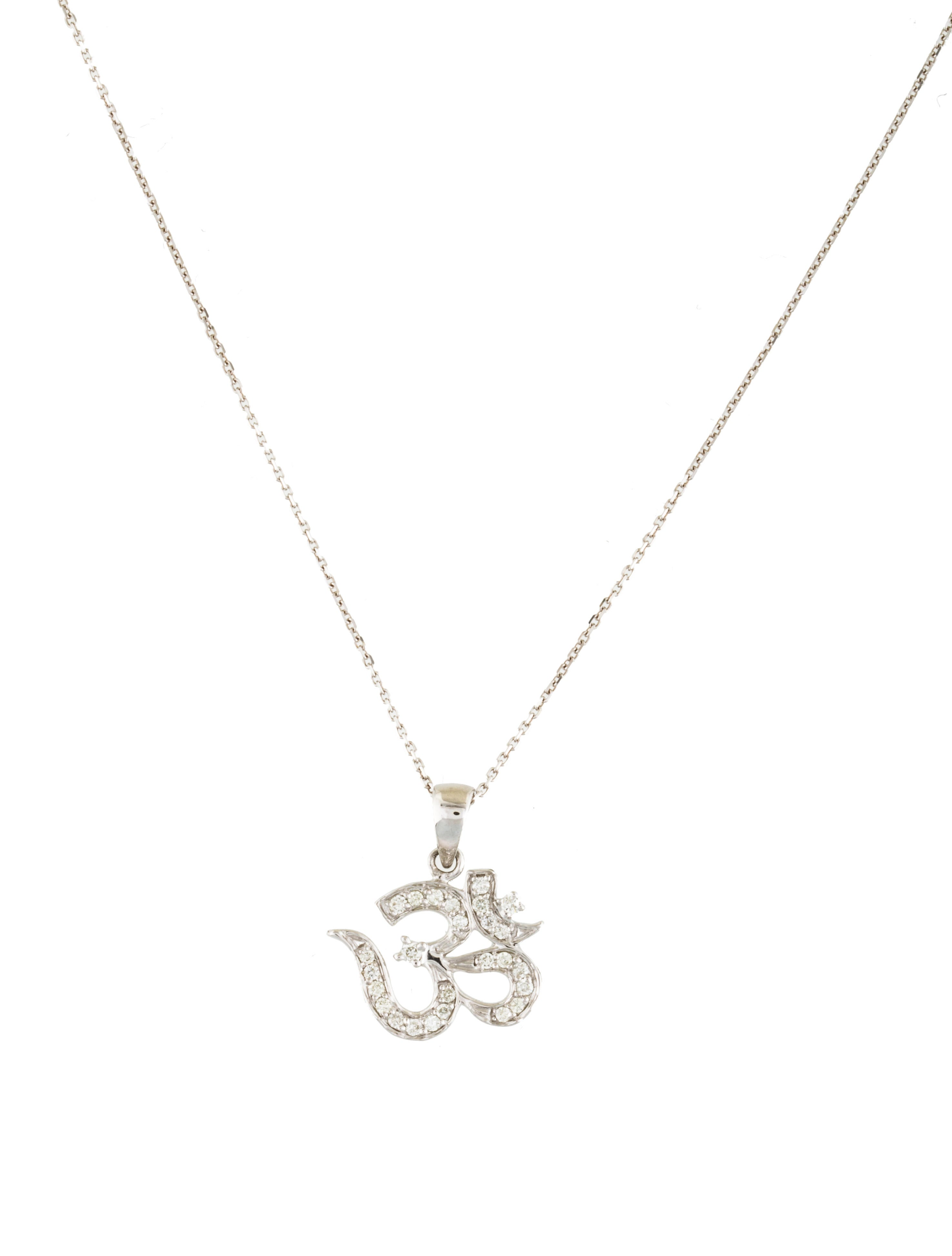 14k om pendant necklace necklaces neckl29679