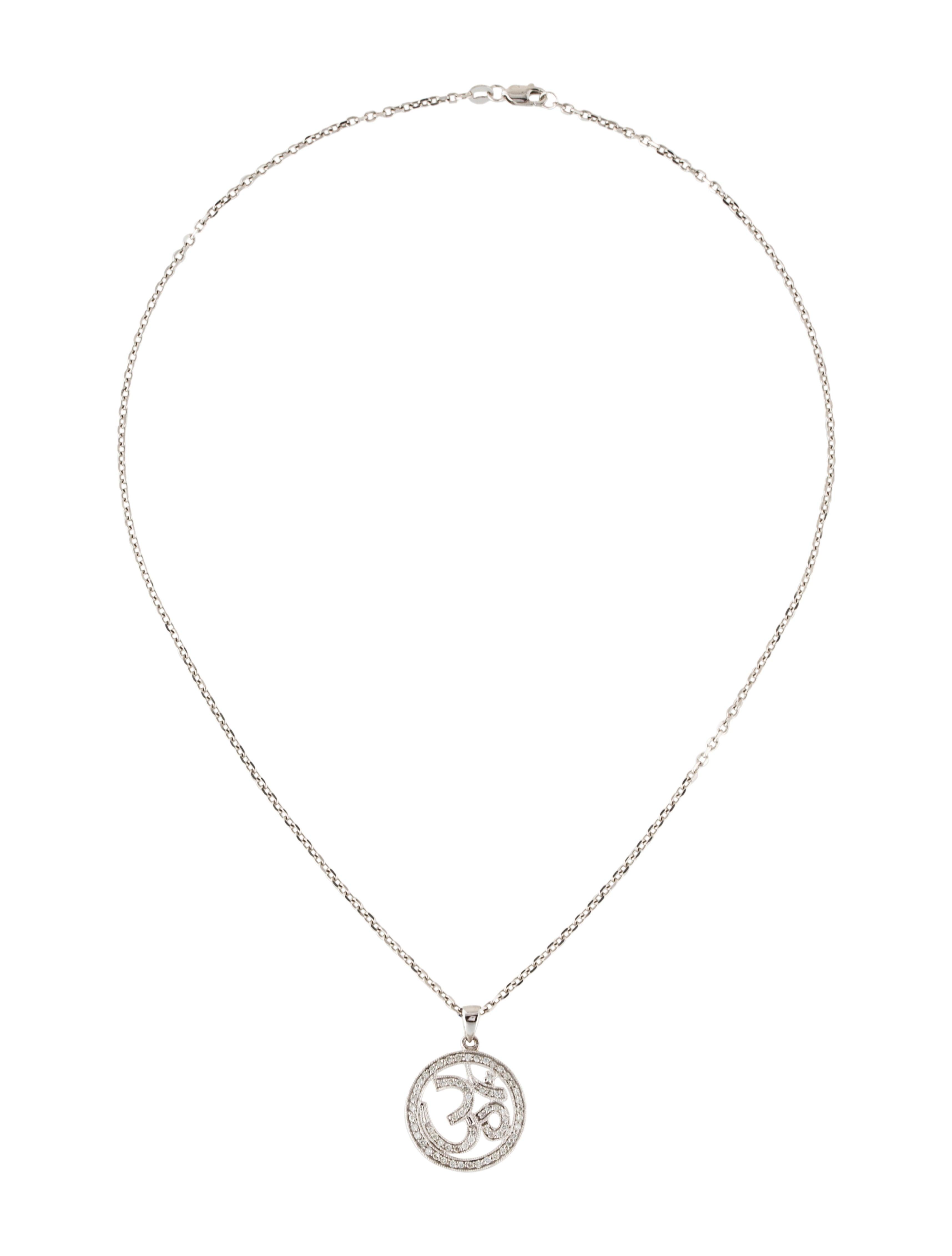 14k om pendant necklace necklaces neckl29719