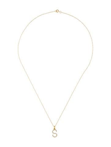Necklace 14k diamond initial s pendant necklace necklaces 14k diamond initial s pendant necklace aloadofball Choice Image